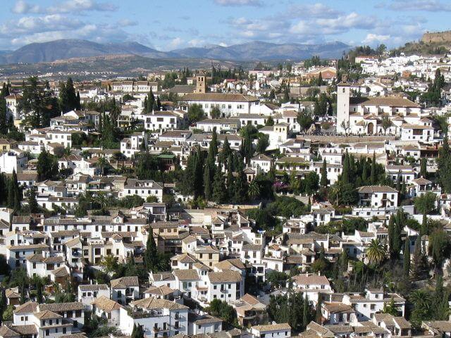 El Albaicín in Granada