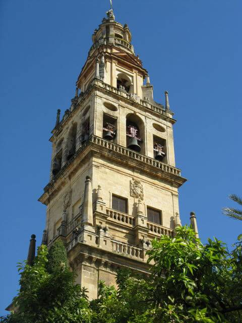 The tower of the Mezquita in Córdoba